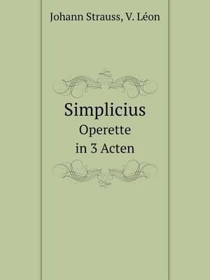 Simplicius Operette in 3 Acten