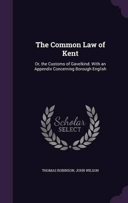 The Common Law of Kent