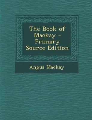 The Book of MacKay