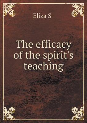 The Efficacy of the Spirit's Teaching