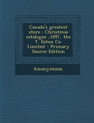Canada's Greatest Store