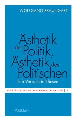 Ästhetik der Politik, Ästhetik des Politischen