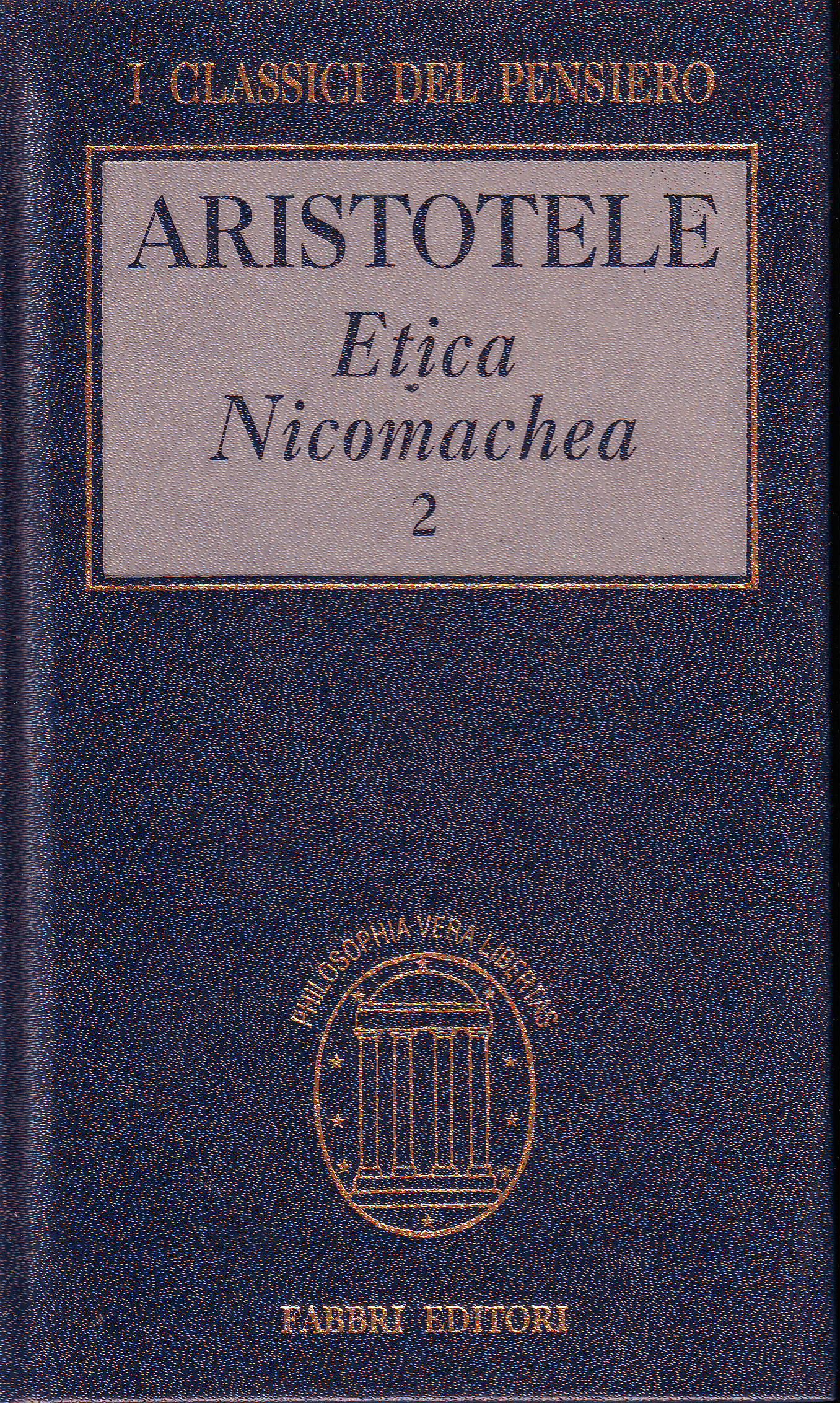 Etica nicomachea vol.2