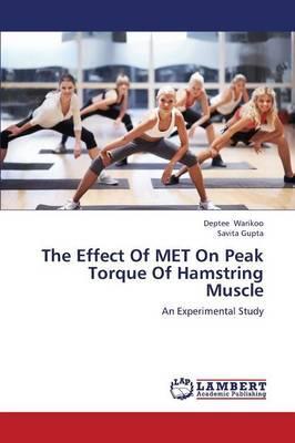 The Effect Of MET On Peak Torque Of Hamstring Muscle