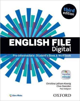 English file digital. Pre-intermediate. Entry checker-Student's book-Workbook. Per le Scuole superiori. Con e-book. Con espansione online