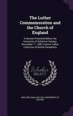 The Luther Commemoration and the Church of England