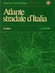 Atlante stradale d'Italia. Centro
