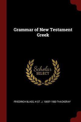 Grammar of New Testa...