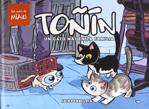 Toñín, un gato más en la familia