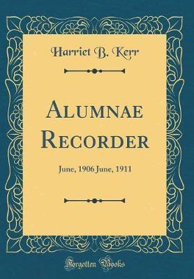 Alumnae Recorder