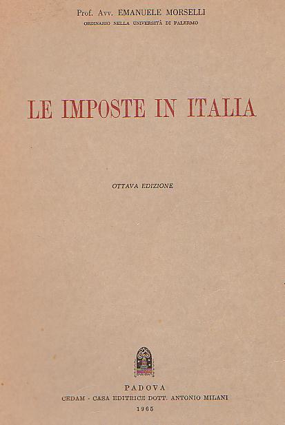 Le imposte in Italia