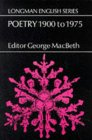 Poetry 1900 to 1975