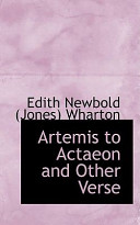 Artemis to Actaeon and Other Verse