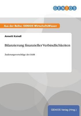 Bilanzierung finanzieller Verbindlichkeiten