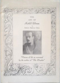 The art of Kahlil Gibran