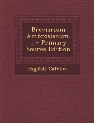 Breviarium Ambrosian...