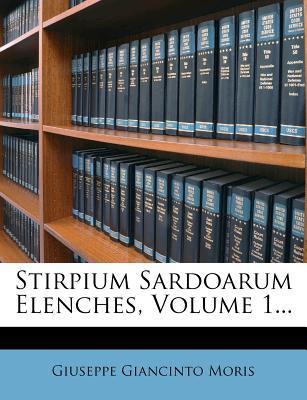 Stirpium Sardoarum Elenches, Volume 1...