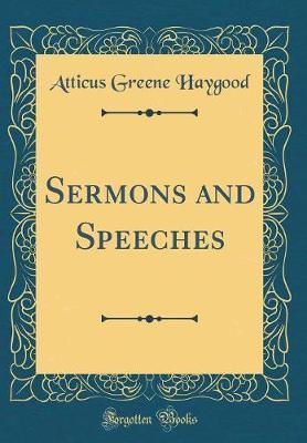 Sermons and Speeches...