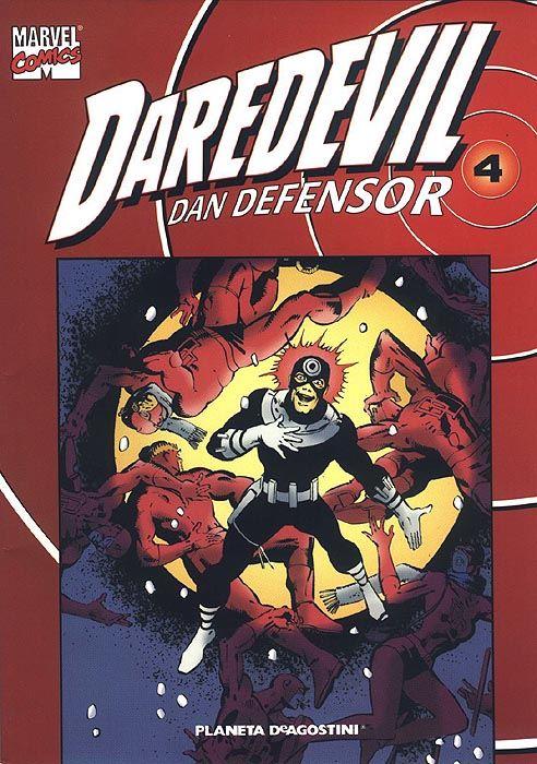 Coleccionable Daredevil/Dan Defensor Vol.1 #4 (de 25)