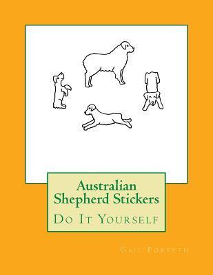 Australian Shepherd Stickers