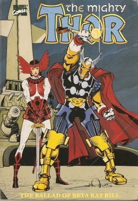 The Mightly Thor in The Ballad of Beta Ray Bill, Vol. 1