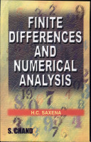 Finite Differences and Numerical Analysis