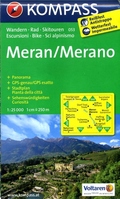 Merano-Meran 1:25.000