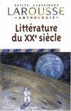 Anthologie De La Francaise Xxe Siec
