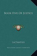 Book Five of Justice
