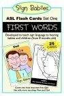 Sign Babies ASL Flash Cards, Set One