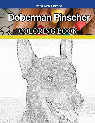 Doberman Pinscher Coloring Book