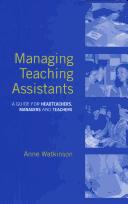 Managing teaching assistants