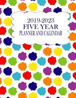 2019-2023 Five Year Planner And Calendar