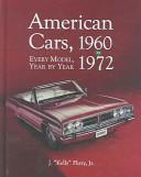American cars, 1960-1972