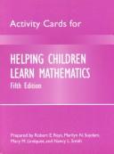 Helping Children Learn Mathematics Activity Cards
