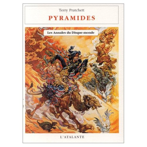 Annales du disque-monde 07 - Pyramides