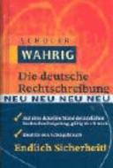 Die deutsche rechtschreibung,