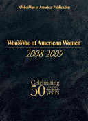 Who's Who of American Women 2008-2009