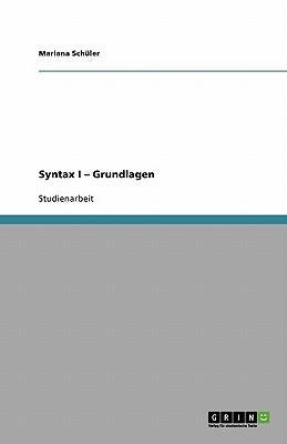 Syntax I - Grundlagen