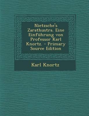 Nietzsche's Zarathus...