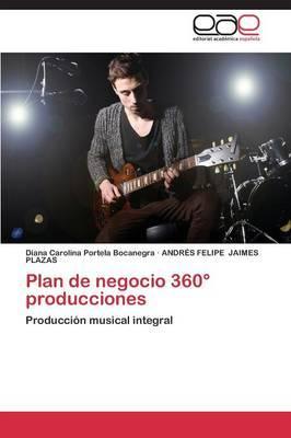 Plan de negocio 360° producciones