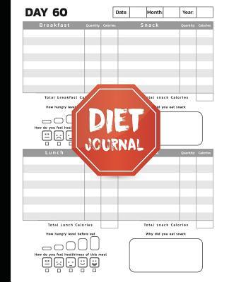 Complete Diet, Health, Weight Loss Tracker for 60 Days