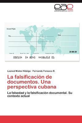 La falsificación de documentos. Una perspectiva cubana