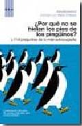 ¿Por qué no se hielan los pies de los pingüinos?
