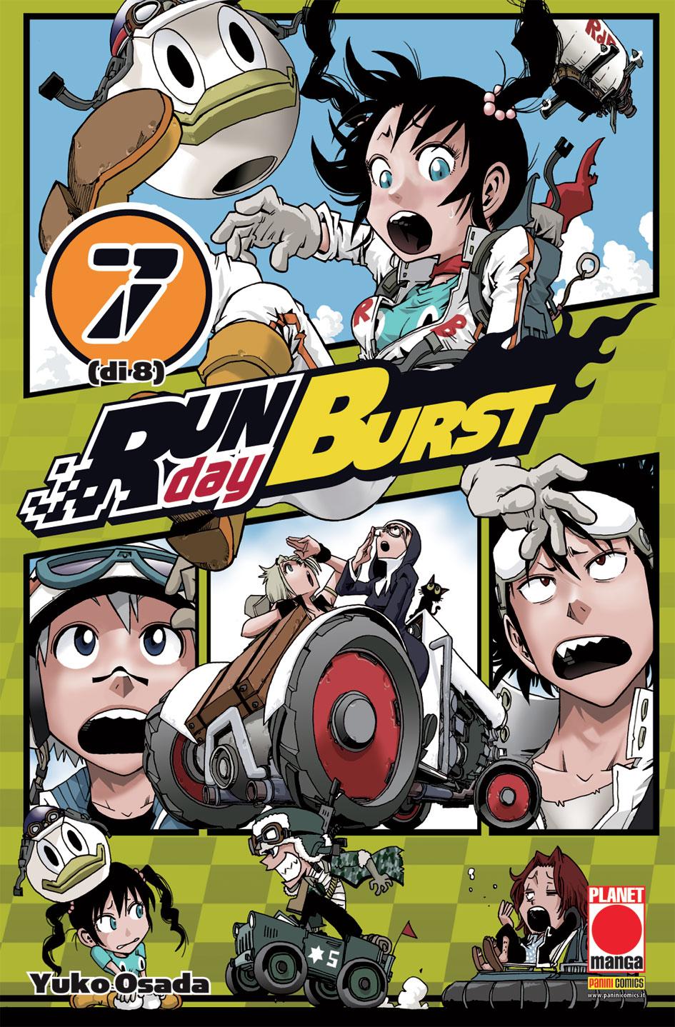 Run Day Burst vol. 7