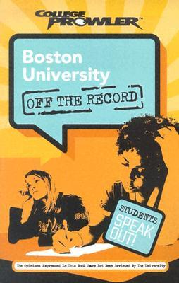 Boston University College Prowler Off The Record