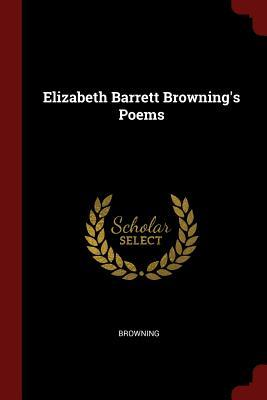 Elizabeth Barrett Browning's Poems