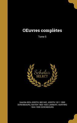 FRE-OEUVRES COMPLETES TOME 5