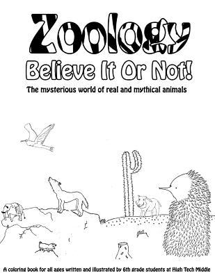 Zoology Believe It or Not! Adult Coloring Book