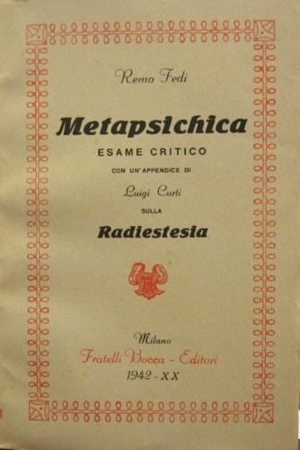 Metapsichica